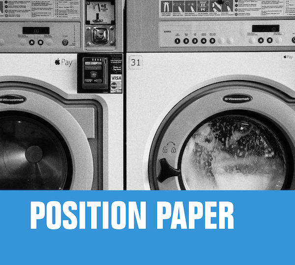 position paper MONEY LAUNDERING