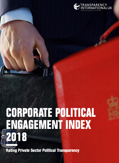Corporate Political Engagement Index