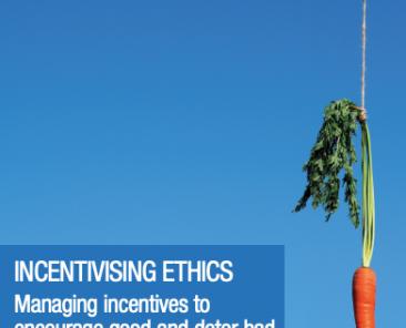 Incentivising Ethics
