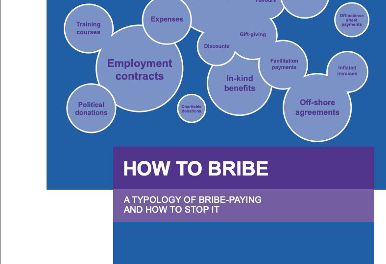 Typology of bribery