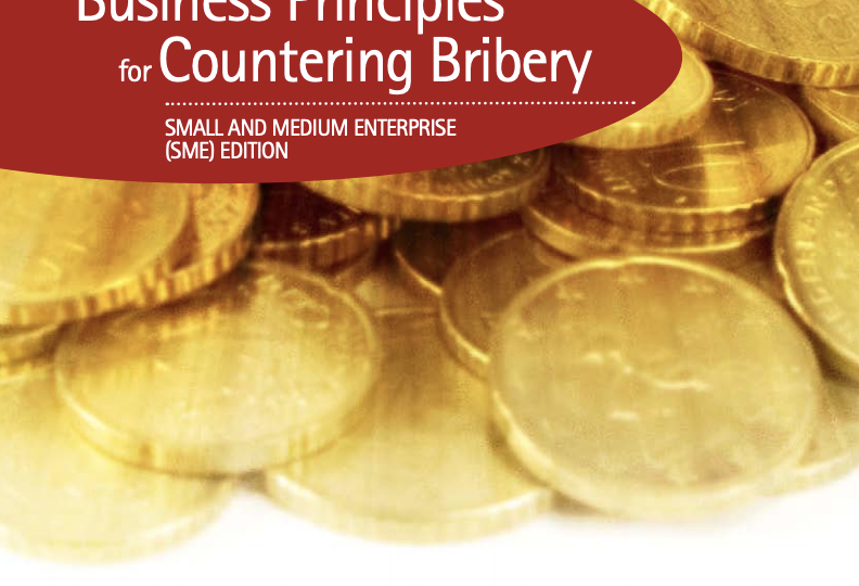 Business Principles Bribery
