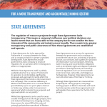 State Agreements